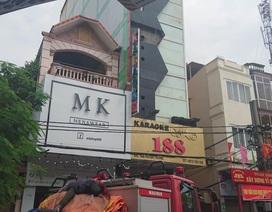 Cháy tại quán karaoke 7 tầng ở Hải Phòng
