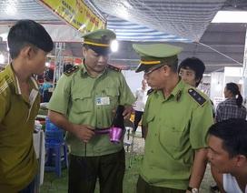 Quảng Ninh:  Phát hiện hàng hóa nghi giả, đóng cửa sớm Hội chợ Thương mại 2016