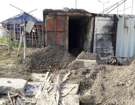 Container phát cháy, 2 công nhân bị bỏng gas