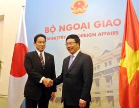 Việt-Nhật đề nghị thúc đẩy xây dựng Bộ Quy tắc ứng xử Biển Đông