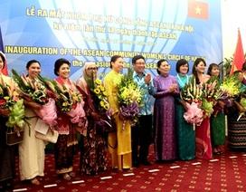 Ra mắt Nhóm Phụ nữ Cộng đồng ASEAN tại Hà Nội