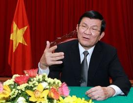 Chủ tịch nước dự Lễ kỷ niệm 70 năm chiến thắng phát-xít của nhân dân thế giớitại Trung Quốc