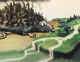 Họa sĩ biếm họa Việt Nam, Thụy Điển cảnh báo thảm họa biến đổi khí hậu
