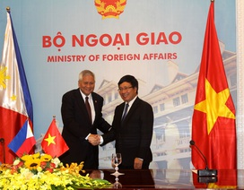 """Ngoại trưởng Philippines: """"Việt Nam - Philippines là đồng minh tự nhiên"""""""
