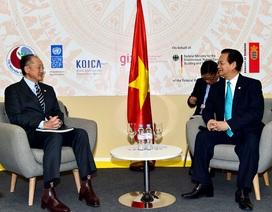 Lãnh đạo nhiều nước ủng hộ lập trường của Việt Nam về Biển Đông