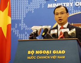 Việt Nam phản đối Trung Quốc điều thêm máy bay tới đá Chữ Thập