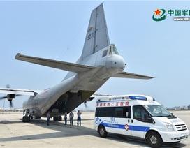 Trao công hàm phản đối Trung Quốc đưa máy bay quân sự ra đá Chữ Thập