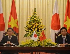 Ngoại trưởng Nhật: Sẽ nỗ lực hết mình vì quan hệ Việt-Nhật
