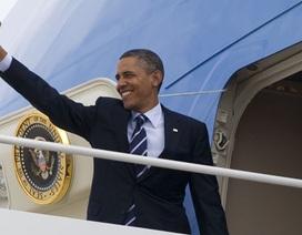 Tổng thống Obama đã lên đường tới Hà Nội