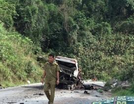 Vụ nổ xe khách 8 người chết: Xe chở nhiều pháo lậu
