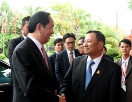 Việt Nam-Campuchia ủng hộ và thúc đẩy giải quyết hòa bình các tranh chấp