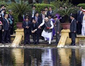 Một ngày làm việc bận rộn của Thủ tướng Ấn Độ tại Hà Nội