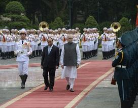 Việt Nam, Ấn Độ nâng cấp quan hệ lên đối tác chiến lược toàn diện
