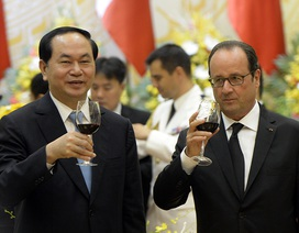 Tổng thống Pháp được chiêu đãi món ăn gì trong bữa Quốc yến trưa nay?