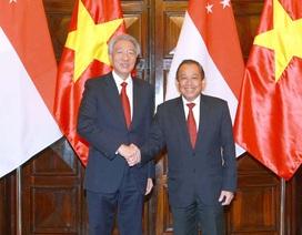 Việt Nam, Singapore nhất trí thúc đẩy đoàn kết ASEAN