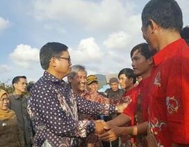 Indonesia trao trả 228 ngư dân Việt Nam về nước