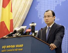 Việt Nam lên tiếng về việc Malaysia đàm phán song phương với Trung Quốc về Biển Đông