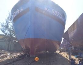 Đà Nẵng hạ thủy tàu cá đầu tiên vay vốn theo Nghị định 67