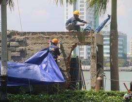 Chủ tịch TP Đà Nẵng chỉ đạo dỡ lô cốt lấn chiếm vỉa ngay trong ngày 30/9