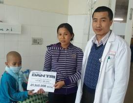 Gần 50 triệu đồng đến với cháu bé 8 tuổi bị ung thư máu