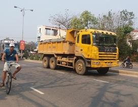 Đà Nẵng: Để nhiều xe ben vi phạm, doanh nghiệp sẽ bị thu hồi giấy phép khai thác mỏ