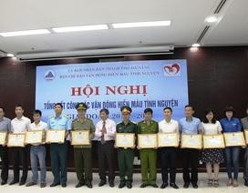 Đà Nẵng: Tôn vinh những người hiến máu tình nguyện