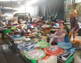 Chợ cá ế ẩm vì thông tin cá chết hàng loạt