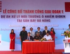 45.000 m3 đất nhiễm dioxin tại sân bay Đà Nẵng đã được xử lý
