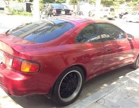 Đà Nẵng: Tạm giữ xe Toyota Celica nghi nhập lậu