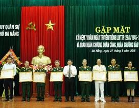 Đà Nẵng: Trao, truy tặng Huân chương cho 105 cán bộ quân đội nghỉ hưu