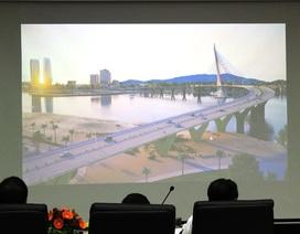 """13 phương án """"thi tuyển"""" thiết kế công trình vượt sông Hàn"""