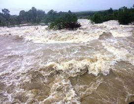 Mưa lớn kéo dài ở Đắk Lắk, một người bị nước cuốn trôi