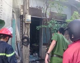 Cháy nhà, một người bị chết ngạt
