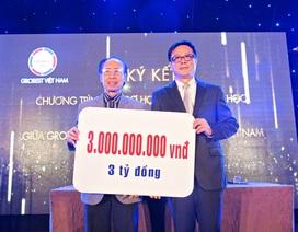 Grobest Việt Nam tài trợ Quỹ Khuyến học Việt Nam mỗi năm trên 3 tỷ đồng học bổng