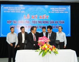 Đà Nẵng và Lâm Đồng ký thỏa thuận cung ứng rau sạch