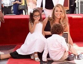 "Mariah Carey bị con ""quấy nhiễu"" trong buổi lễ nhận sao"