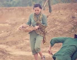 Ca sỹ Hà Linh vào vai thanh niên xung phong