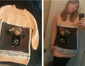 Người hâm mộ dành 8 tháng đan áo len tặng Taylor Swift