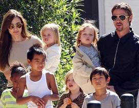 Angelina Jolie không hề muốn các con phải lo lắng cho mình