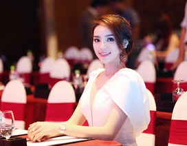 """Hoa hậu Kỳ Duyên chạy show """"chớp nhoáng"""" ở Sài Gòn"""