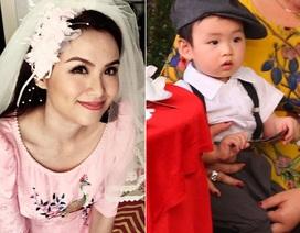Lộ diện con trai Hoa hậu Diễm Hương trong lễ rước dâu bí mật
