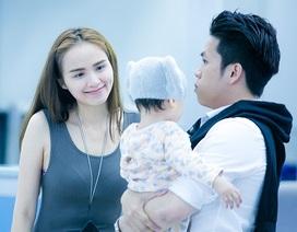 Hoa hậu Diễm Hương cùng chồng và con trai đi Pháp trong tuần trăng mật