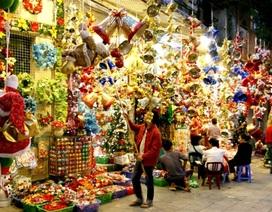 Sài Gòn cuối tuần: Trang hoàng cho Giáng sinh và năm mới