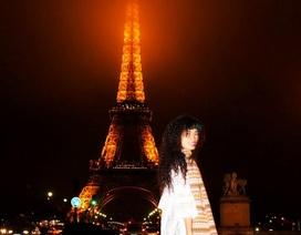 Đồng Lan khoe ảnh đón Giáng sinh tại Paris