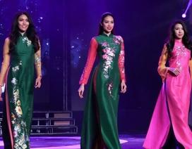Phạm Hương tái xuất sàn diễn thời trang cùng Thúy Vân, Lan Khuê