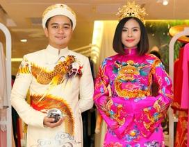 Hé lộ trang phục cưới lộng lẫy của Vân Trang