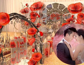 Vân Trang và cả gia đình chuẩn bị cho lễ cưới cầu kỳ