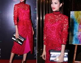 Phạm Hương diện trang phục hàng hiệu hơn 200 triệu