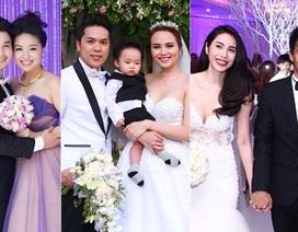 """Điểm danh những đám cưới """"rầm rộ"""" của sao Việt trong năm 2015"""