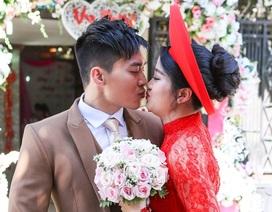 MC Hồng Phượng rạng ngời hạnh phúc trong lễ rước dâu